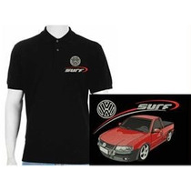 Camisa Polo Bordada Saveiro Surf Super Surf Volks