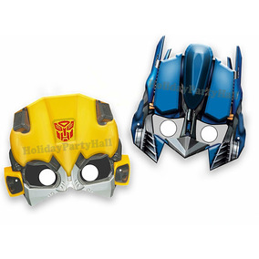 Mascara Antifaz Transformers Optimus Prime Bumblee Bee