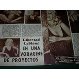Libertad Leblanc Voragine Clipping Revista Radiolandia