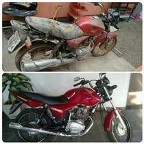 Traga Sua Moto Para Reformar Na Tedy Motos!