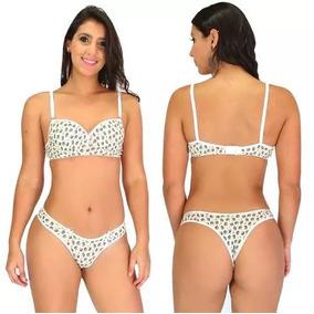 Conjunto Lingerie Renda Luxo Sutiã E Calcinha Moda Sexy