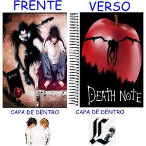 Caderno Do Death Note 10 Materias - 200 Folhas Mod 19