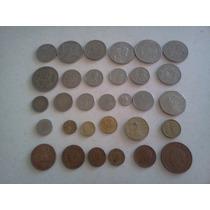 Coleccion Monedas Antiguas Diferentes 35 Piezas No Subasta