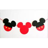 Guirnaldas Fiestas Infantiles Decoración Candybar Mickey