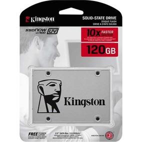 Hd Ssd 120 Gb Sata 3 Kingston Uv400 550 Mb/s (10x + Rápido)