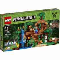 Lego Minecraft 21125 La Casa Del Árbol En La Jungla 706 Pza