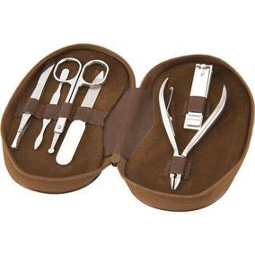 Kit Manicure Pedicure Alicate Cuticula Cortador Pinca Lixa