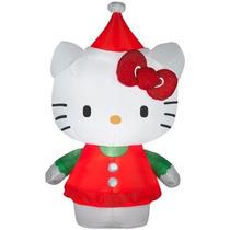 Hello Kitty Navidad Inflable Adorno Navideño