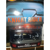 Hot Wheels Knight Rider Kitt Retro Auto Increible