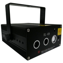 Laser Holografico Verde Vermelho+led Azul 250mw Video Hl69