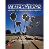 Matematicas Aplicadas A La Administracion Y Negocios