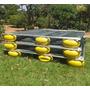 Tanque Rede 3,0 X 3,0 Super Reforçado P/ Peixes Em Alumínio