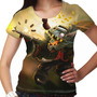 Camiseta League Of Legends Twitch Mafioso Clássico Feminina