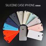 Funda Case Iphone Se, 5s, 6, 6s, 6s Plus Silicona Apple Oem