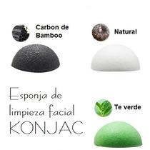 Esponja Facial Konjac Orgánico Antiacné, Hidratante Y Mas