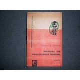 Manual De Psicología Social De Theodore M. Newcomb 2 Tomos
