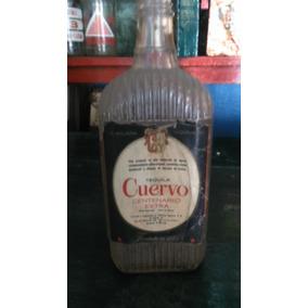 Botella Antigua De Tequila Cuervo, Original Y Antigua