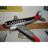 Avion Douglas Dc-3 Fuerza Aerea Arg. 40 Cm Supertoys