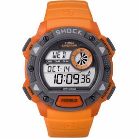 Reloj Timex Tw4b076 Caballero Luz Expedition Shock Wr 100 M*