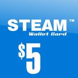 Tarjeta Steam Wallet De $5 Dolares Para Dota2 Y Mas