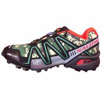Zapatillas Salomon Speedcross3 Camufladas Envio Gratis X Oca