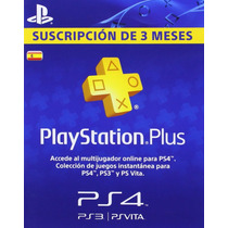 Psn Plus 90 Dias - 3 Meses - España Game Masters