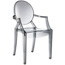 Cadeira Sophia Louis Ghost - Transparente E Colorida