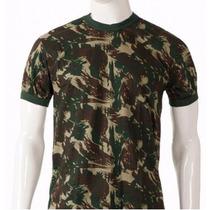 Camisa Camiseta Camuflada Exército