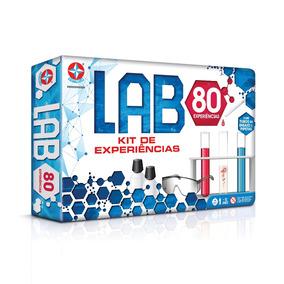Laboratório De Quimica Kit C/ 80 Experiências - Estrela