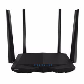 Roteador Wifi Tenda 4 Antenas 2,4 E 5ghz Longa Distância