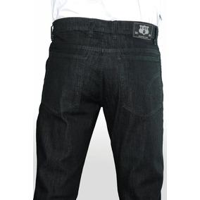Calça Jeans Tradicional Com Lycra Tamanho Grande Plus Size