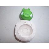 Moldes De Silicona Flexibles!!!!!chancho Angry Birds