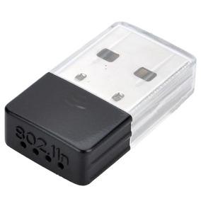 Mini Adaptador Wireless Usb Wifi 300mbps Antena Interna + Cd