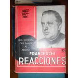 Reacciones Una Sociedad Que Danza Al Abismo Franceschi 1937