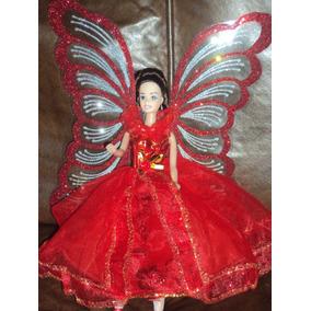 Barbie Hadas Con Alas Rojo O Varios Colores