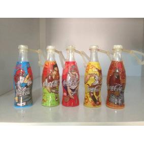 Mini Garrafinhas Coca Cola 2004