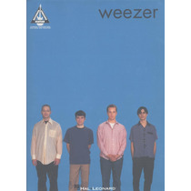 Weezer - The Blue Album Tablatura Partitura Libro