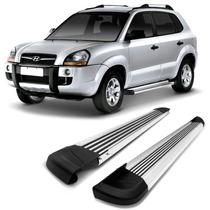 Estribo Aluminio Modelo G2 - Hyundai Tucson - Bepo Aluminio