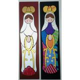 Virgenes Santos En Mdf Del Valle Y Mas