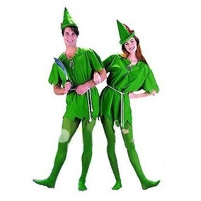 Peter Pan Adulto Del Traje De Halloween Cosplay Traje