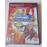 Ps2 - Naruto Ultimate Ninja 2 - Nuevo