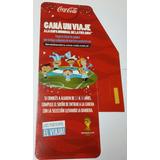 Cartel Coca Cola De Carton Bifaz Gana Un Viaje A Brasil 2014