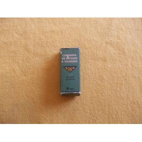Candado 606 18mm. Bronce. 2 Llaves. Ind. Arg. Caja Original