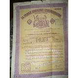 Titulo Capitalizacion La Franco Argentina 1958