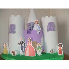 Festa Princesa Sofia Tudo Feito A Mão, E Brinquedos Eva Mdf.