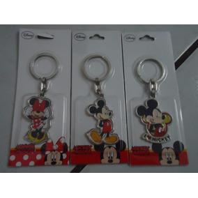 Chaveiro Em Metal Disney Mickey E Minnie