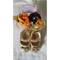 Zapatos De Fiestas Para Niña Bebes Con Lazos