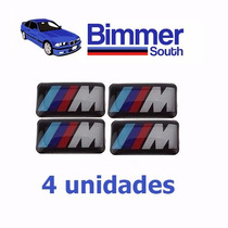 Adesivo/emblema Roda/painel Bmw Motorsport M3 M5 X1 X5 X6