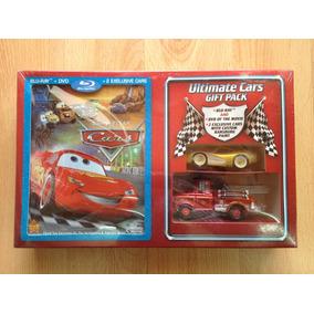 Disney Pixar Cars Blu Ray Dvd Mcqueen Dorado Y Mate Bombero