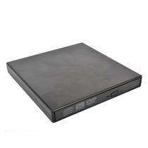 Gravador De Dvd Slim Externo Usb 2.0 24x - Preto